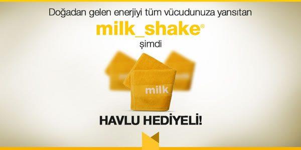 Milk Shake Ürünleri Havlu Hediyeli