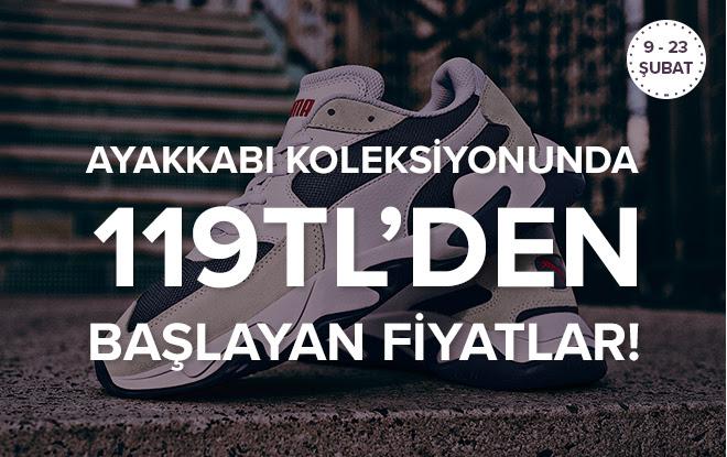 Nike, Adidas, Converse 119 TL'den Başlayan Fiyatlarla!