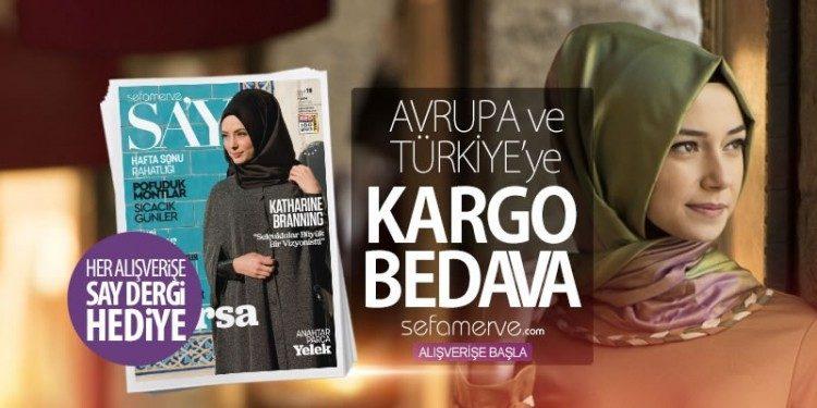 Kargo Bedava, SAY Dergi Hediye!