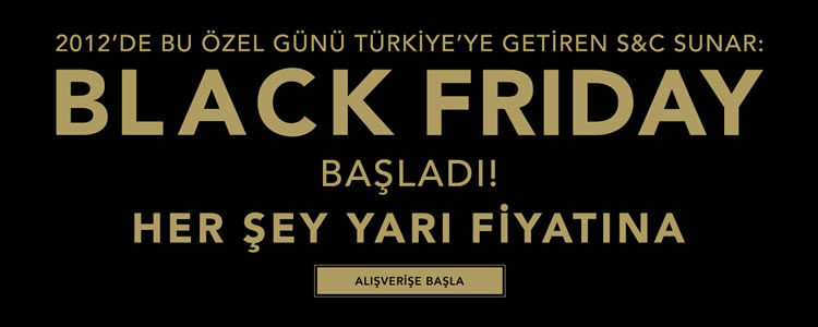 Black Friday Uzadı: %50 Silk and Cashmere İndirimi