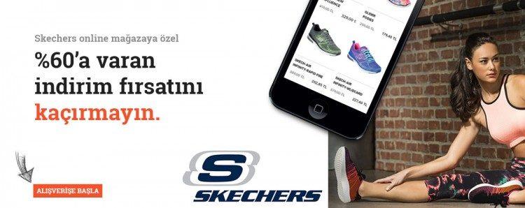 Skechers Online Mağazaya Özel İndirim