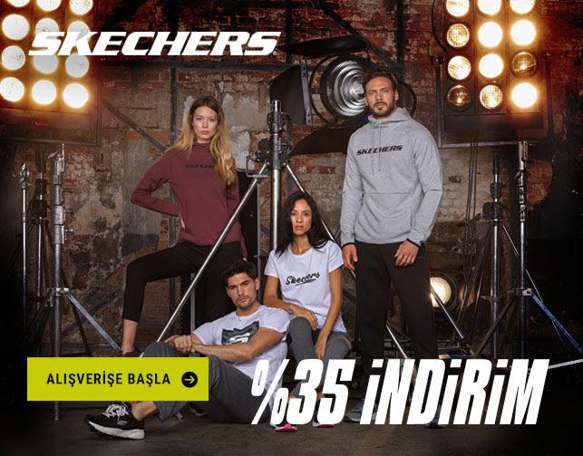 Skechers Ürünlerinde %35 İndirim