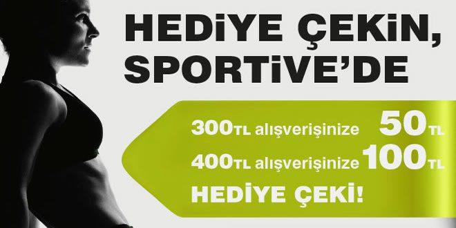 100 TL Sportive Hediye Çeki