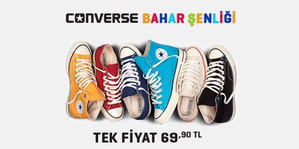 Converse İndirimi: 69,90 TL Tek Fiyat
