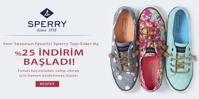 SuperStep'ten Sperry Top-Sider İndirimi