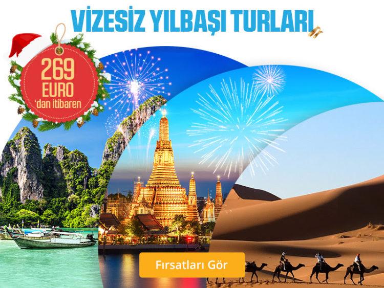 Yılbaşı Tatili İçin Vizesiz Turlara Göz Atın!