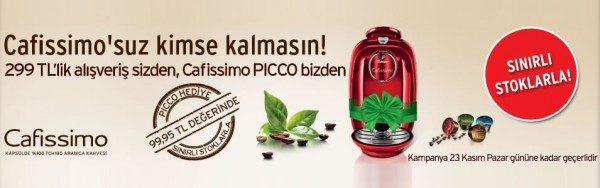Cafissimo Kahve Makinesi Hediye!