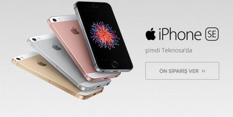 Apple iPhone SE Ön Siparişte