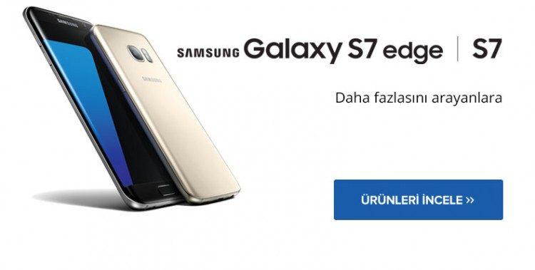 Samsung Galaxy S7 ve S7 Edge Aynı Gün Kargoda