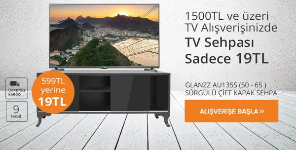 Televizyon Alana TV Sehpası 19 TL