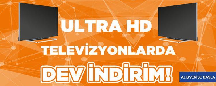 Ultra HD Televizyonlarda Dev İndirim