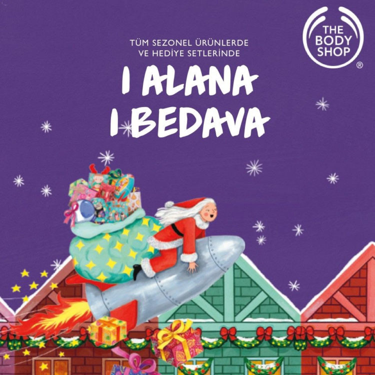 The Body Shop'ta  1 Alana 1 Bedava!