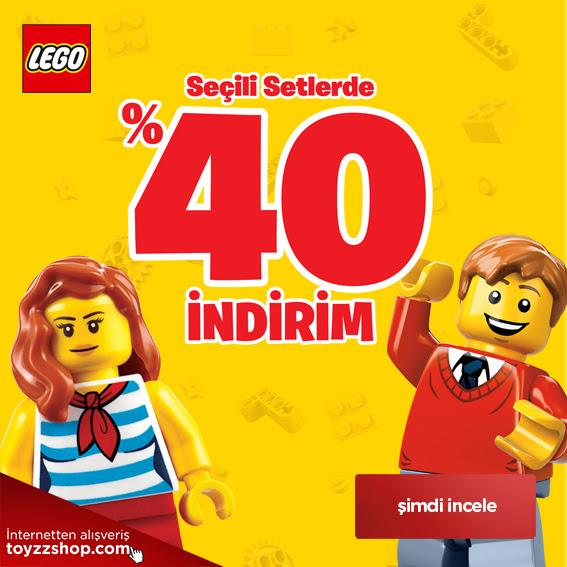 Lego Setlerinde %40 İndirim