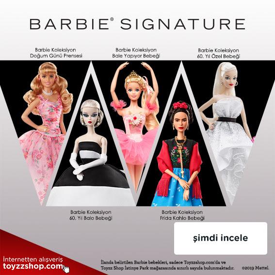 Barbie Koleksiyon Bebekleri Şimdi Toyzzshop.com'da!