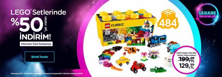 LEGO Setlerinde %50'ye Varan Şahane İndirimler!