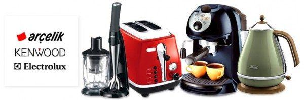 Mutfağınız için Arçelik, Kenwood, Electrolux İndirimi Trendyol'da