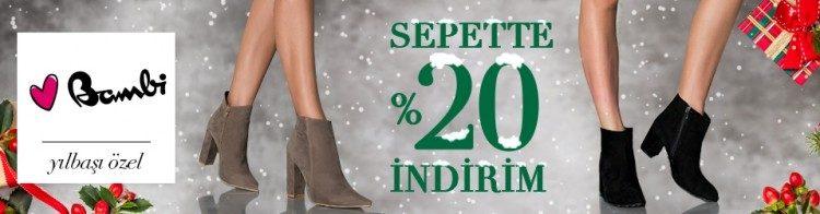 Bambi Yeni Yıla Özel Sepette %20 İndirimli!