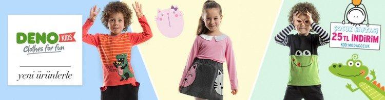 Trendyol İndirim Kuponu: Deno Kids 25 TL İndirimli