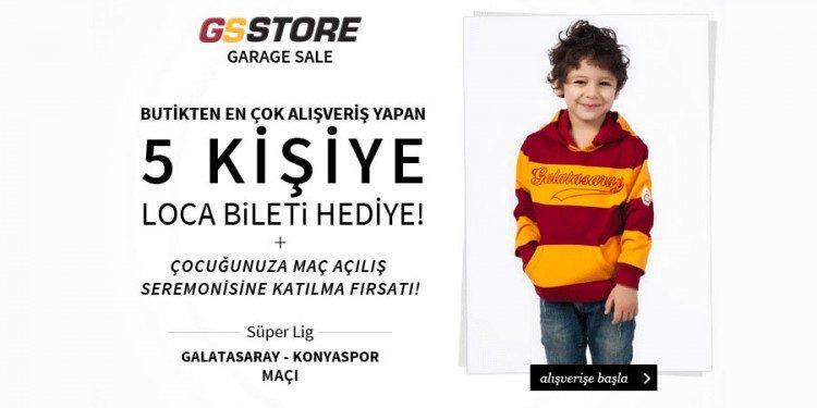 GS Store Kids İndirimi Galatasaray Loca Bileti Kazandırıyor