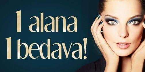 Parfüm, Makyaj, Cilt ve Saç Bakımı, Kozmetikte 1 Alana 1 Bedava!