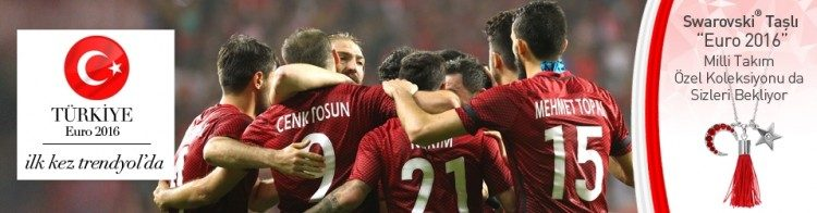 Euro 2016 Milli Takım Ürünleri ilk Kez Trendyol'da!
