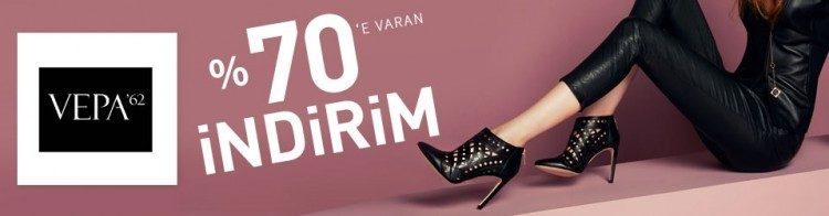 Vepa62 Kadın Ayakkabı Koleksiyonunda İndirim