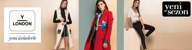 Y-London Kadın Tekstilde İndirim