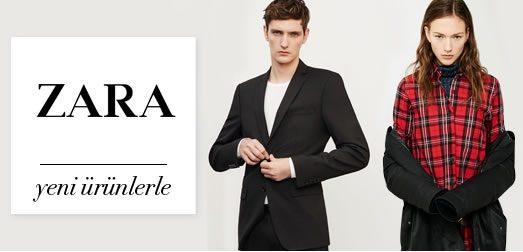 Zara Kadın ve Erkek Giyimde %80'e Varan İndirim
