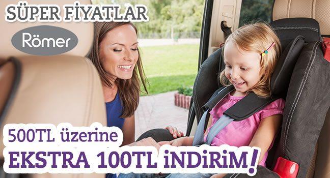 Römer Ürünlerine Özel 100 TL unnado İndirim Kampanyası