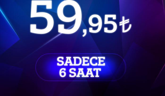 Her Şey Tek Fiyat 59,95 TL!