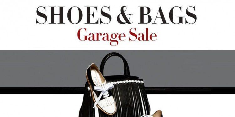 Ayakkabı ve Çantada Garage Sale