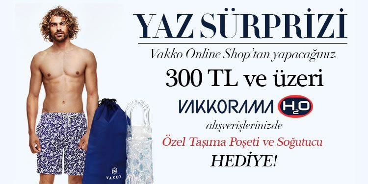 Vakko Online Alışverişleriniz Hediyeler Kazandırıyor