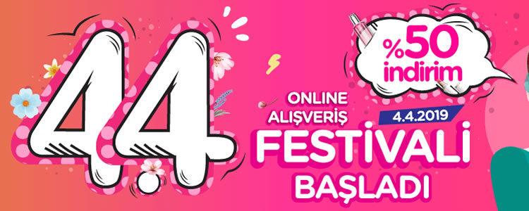 4.4 Online Alışveriş Festivali