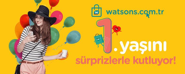 Watsons Online 1 Yaşında!