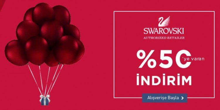 Swarovski Ürünlerinde %50'ye Varan İndirim