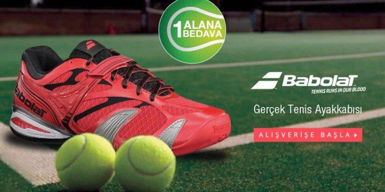 Babolat Tenis Ayakkabısı 1 Alana 1 Bedava Fırsatıyla