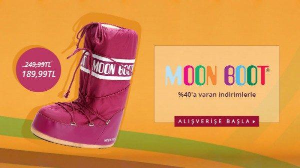 %40'a Varan Moon Boot İndirim Kampanyası