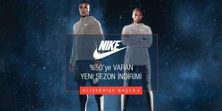 Sezon Ürünlerinde %50'ye Varan Nike İndirimi