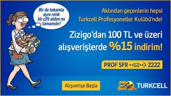 Zizigo'da %15 İndirim Fırsatı