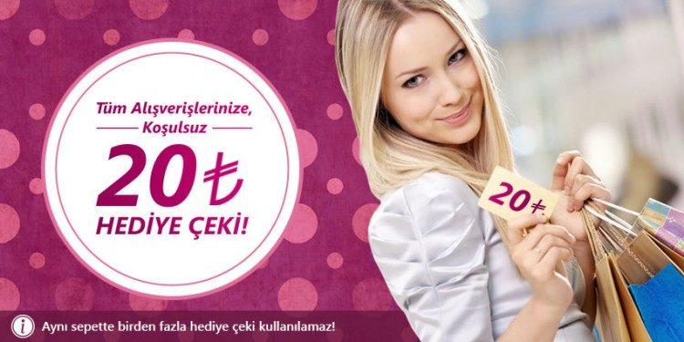 20 TL ZMN - Zemin Giyim Hediye Çeki
